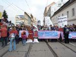 Blockade auf Cejl