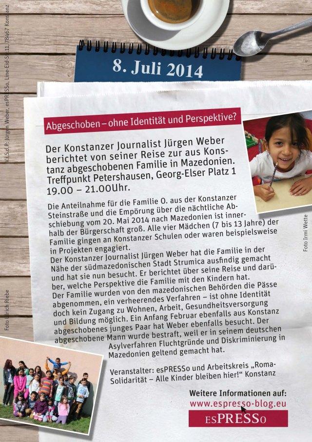 A5_Flyer_esPRESSo-Bericht_Mazedonien