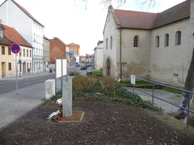 Denkmal Sinti und Roma Merseburg