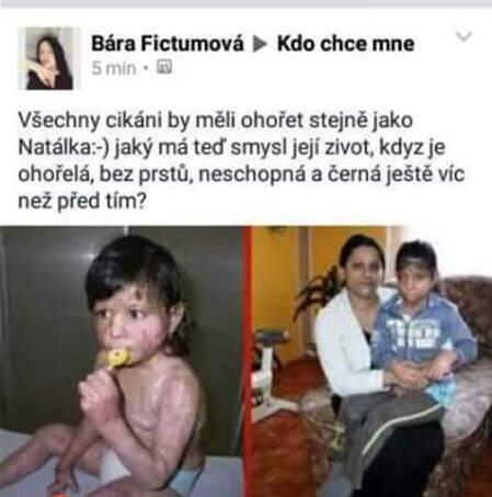 Natalka fb kommentar